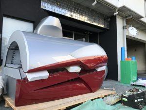 マシン搬入in愛知県豊橋市