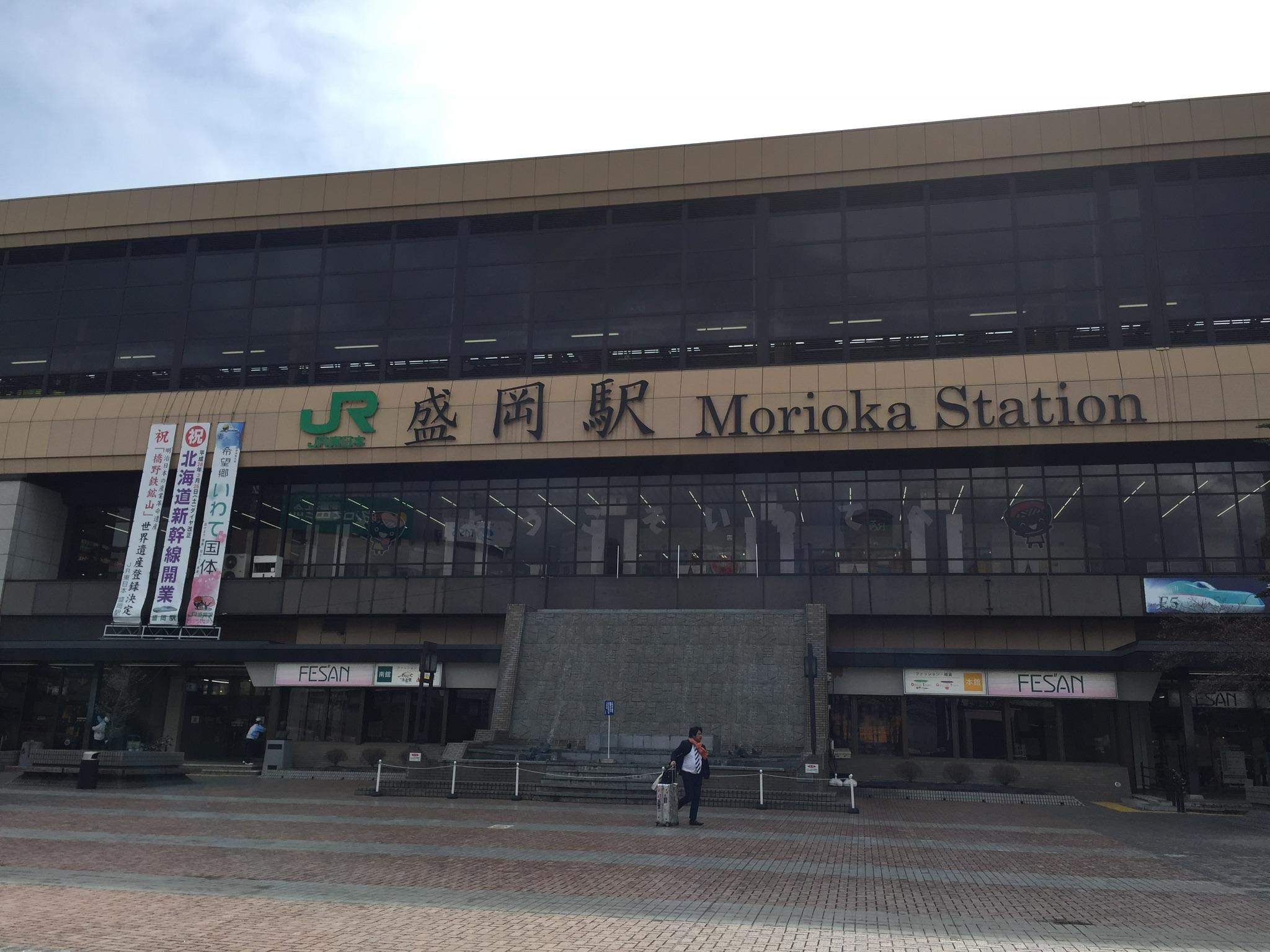 マシン搬入in盛岡