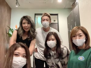 10月4日SSA福岡のカラーリング担当させて頂きます