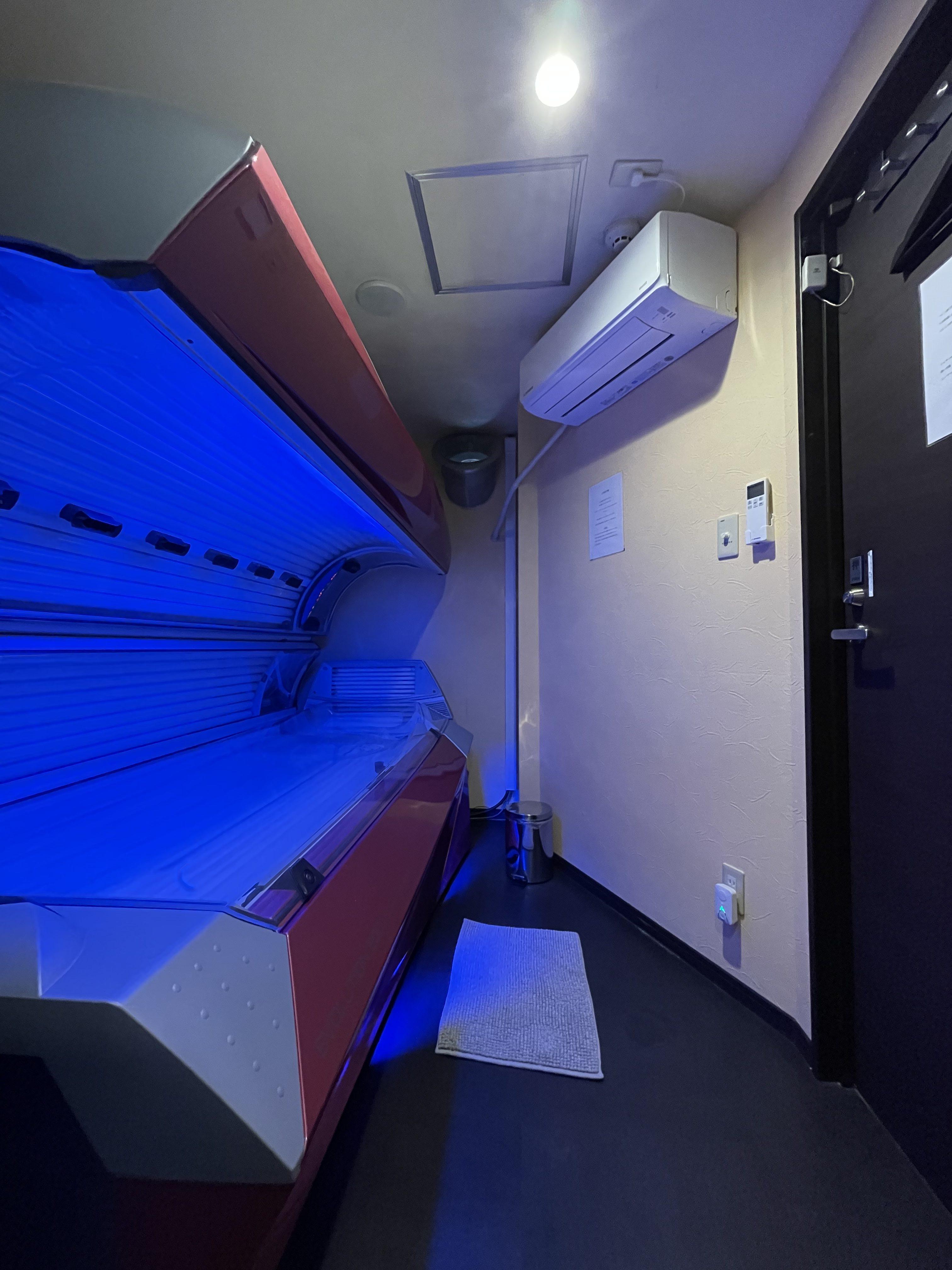 各マシンルームにエアコン設置しました🙆♂️